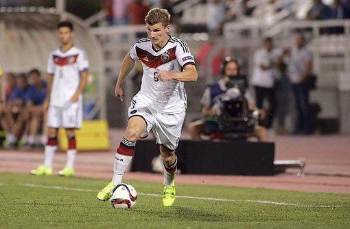 Timo Werner führt U19 zum Sieg