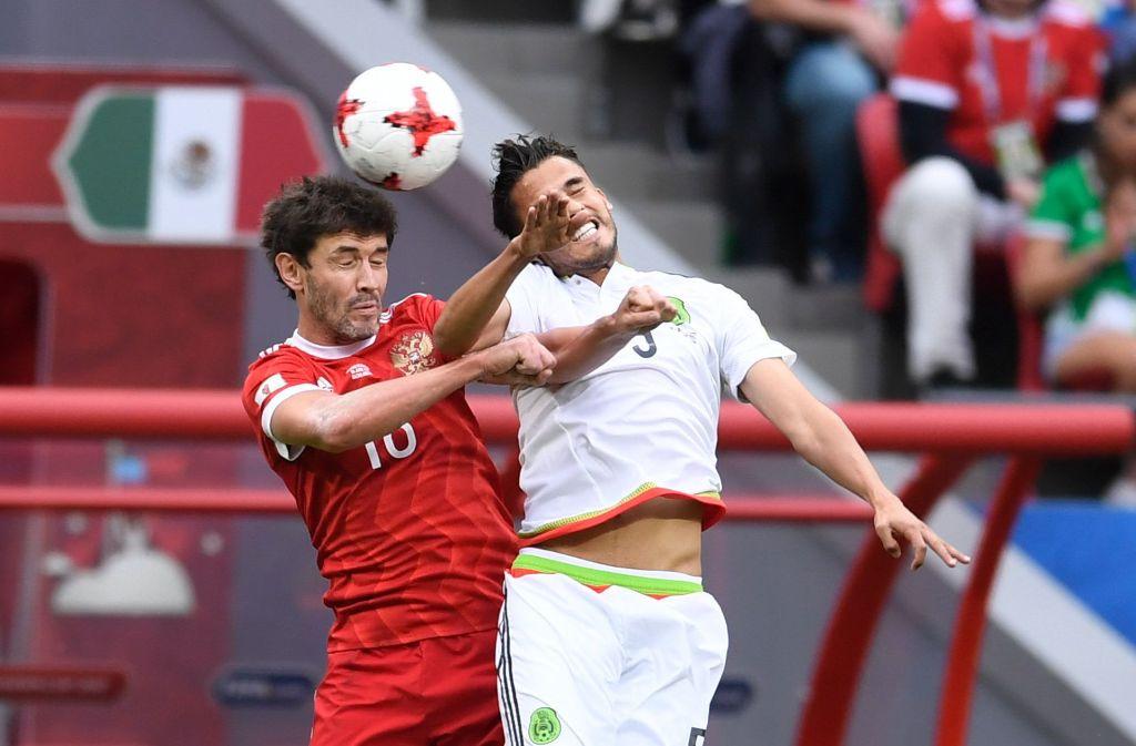 Diego Reyes (rechts) geht keinem Duell aus dem Weg. Foto: dpa