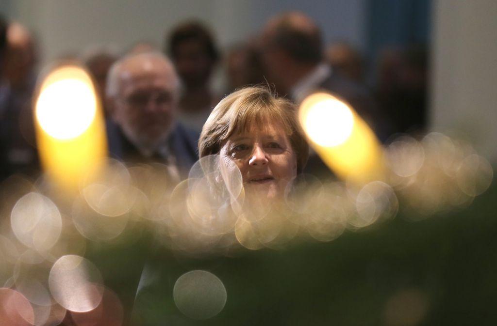 Angela Merkel empfiehlt besorgten Bürgern, ihrer Angst mit der Pflege christlicher Traditionen zu begegnen. Foto: dpa