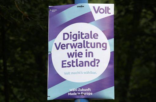 Europapartei Volt tritt in 44 Wahlkreisen an