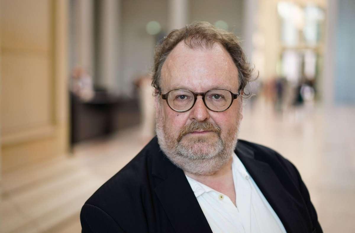 Der Autor und FAZ-Feuilletonchef Jürgen Kaube Foto: dpa/Jörg Carstensen