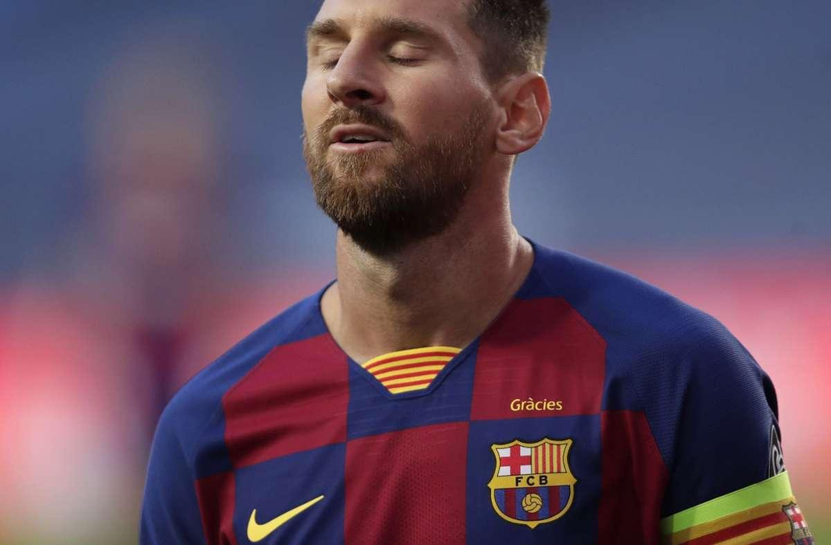 Nach 20 Jahren will Lionel Messi beim FC Barcelona aufhören. Foto: AP/Manu Fernandez