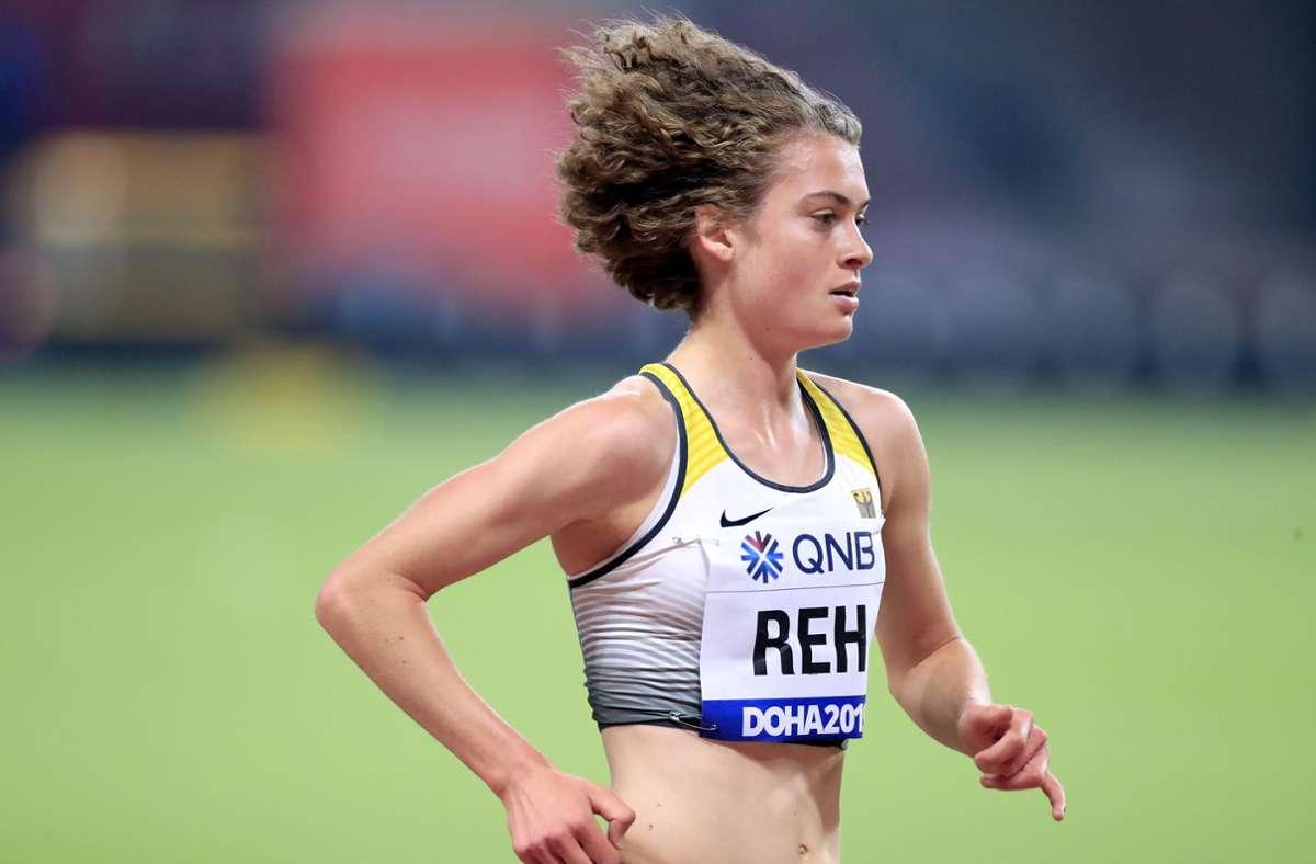 Langstreckenläuferin Alina Reh ist empört, weil Läufe ab 1500 Metern bei den Deutschen Meisterschaften in Braunschweig gestrichen werden sollen. Foto: imago images/Laci Perenyi