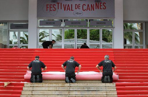 Festival-Palast teilweise evakuiert