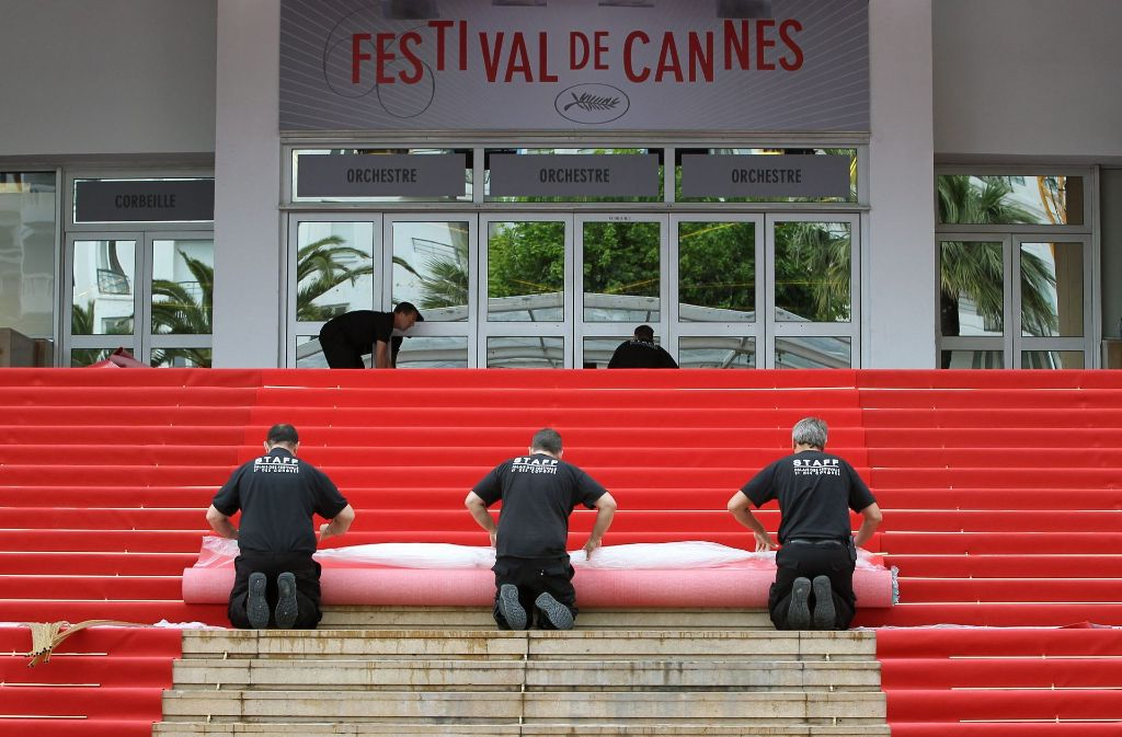 In Cannes wurde der Festival-Palast der Filmfestspiele evakuiert. (Archivbild) Foto: EPA