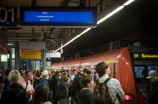 S-Bahn verliert weiter an Pünktlichkeit