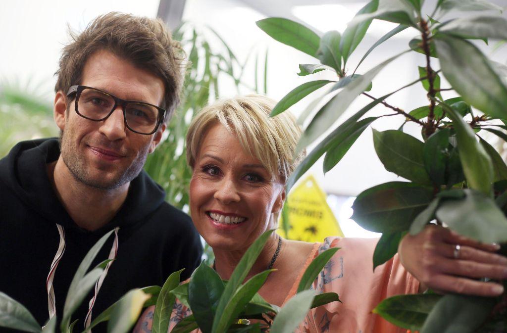 Daniel Hartwich und Sonja Zietlow werden auch 2018 wieder das Dschungelcamp moderieren. Foto: dpa