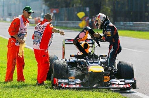 Die Lichtmaschine raubt Vettel den Nerv