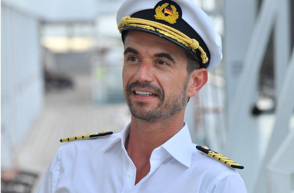 Florian Silbereisen wird der neue Kapitän des Traumschiffs. Foto: ZDF