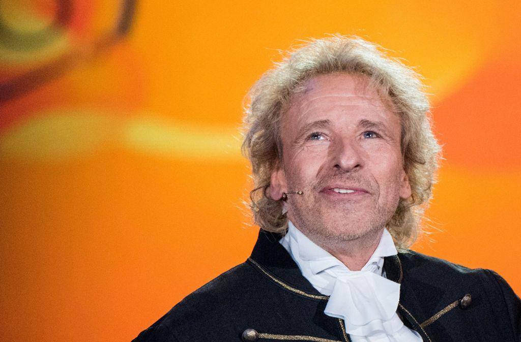 Thomas Gottschalk bevorzugt Live-Fernsehen. Foto: dpa