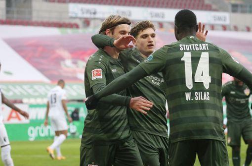 So feiern die VfB-Profis den Erfolg auf Instagram