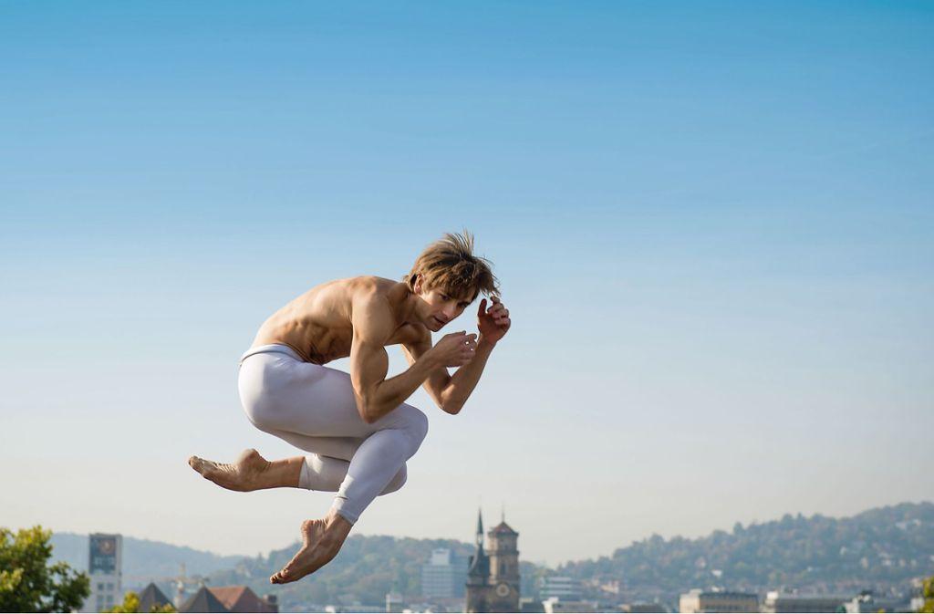 Ein Tänzer hebt ab: Von Stuttgart aus erobert Friedemann Vogel die Welt des Balletts. Foto: Roman Novitzky
