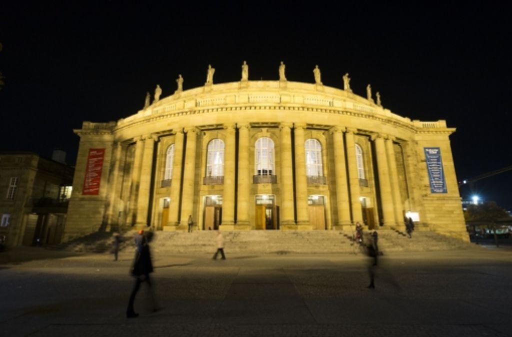 Die Stuttgarter Oper soll saniert und erweitert werden. Foto: Lichtgut/Leif Piechowski