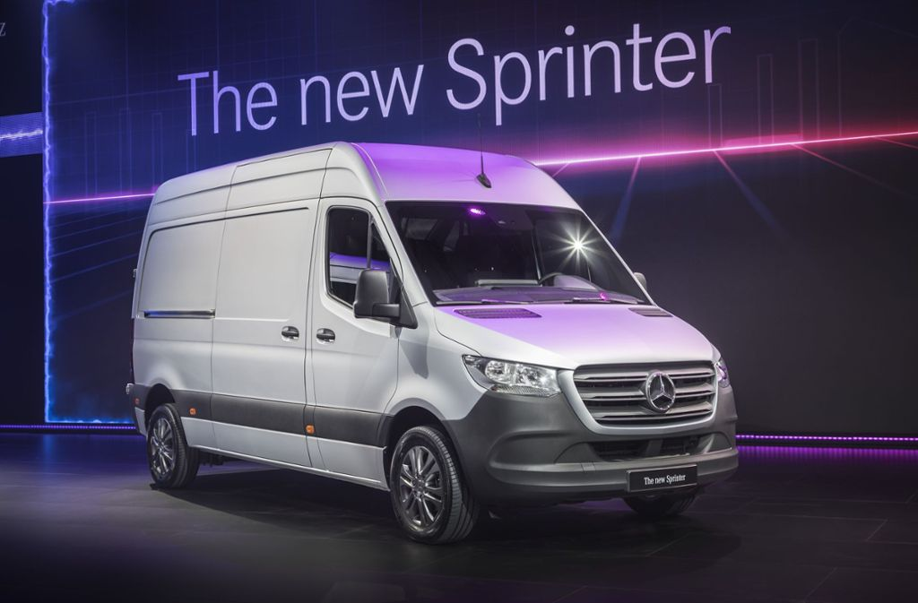 Der Anlauf der neuen Sprinter-Generation bereitet dem Daimler-Konzern Probleme. Foto: Daimler