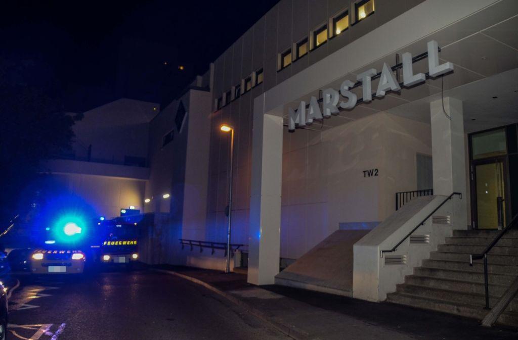 Beim Brand einer Wohnung am Marstall in Ludwigsburg sind in der Nacht auf Mittwoch rund 50.000 Euro Schaden entstanden. Foto: SDMG
