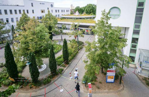 Klinikpersonal im Kreis Ludwigsburg streikt