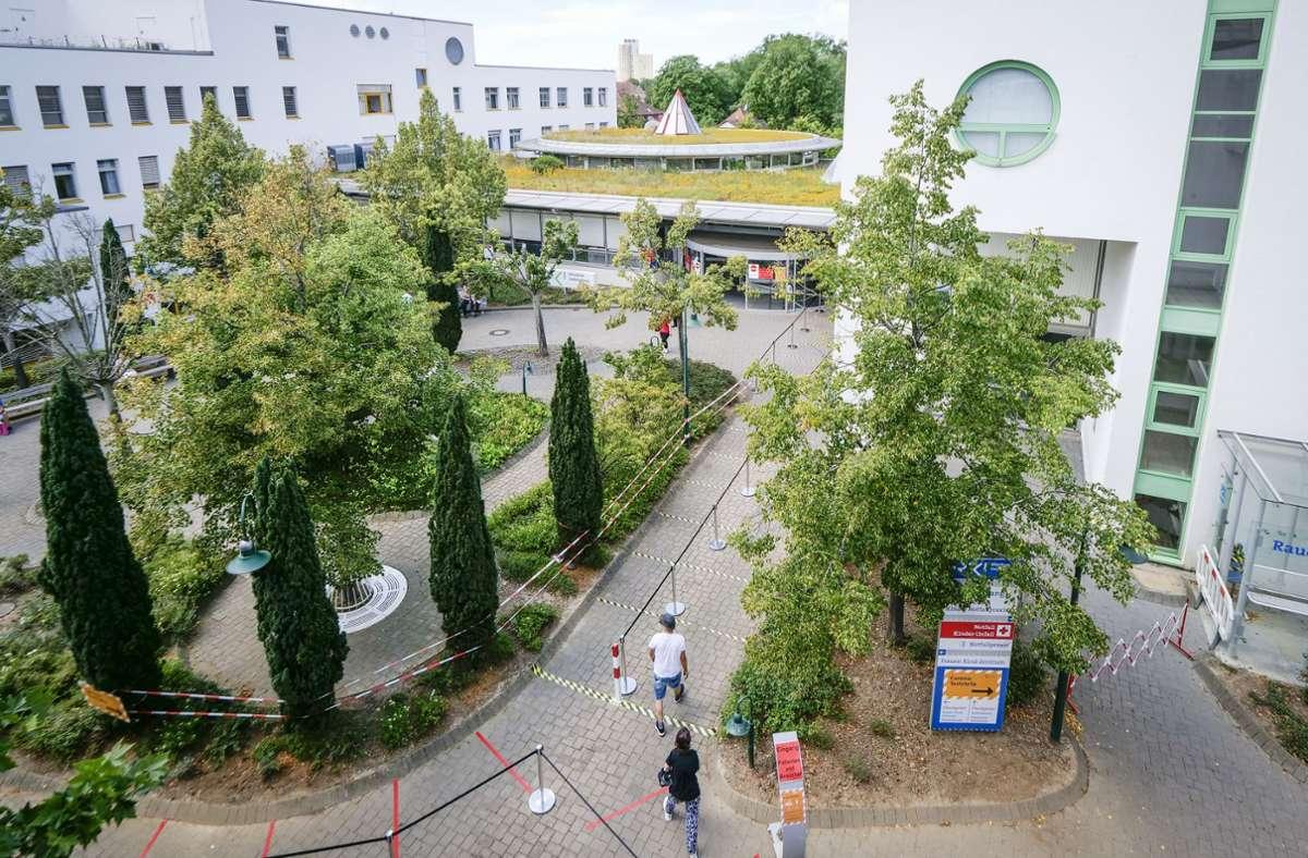 Am Klinikum in Ludwigsburg wird am Mittwoch gestreikt. Foto: factum/Simon Granville
