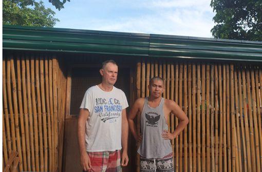 Zwei Stuttgarter  hängen noch  immer  auf den Philippinen fest