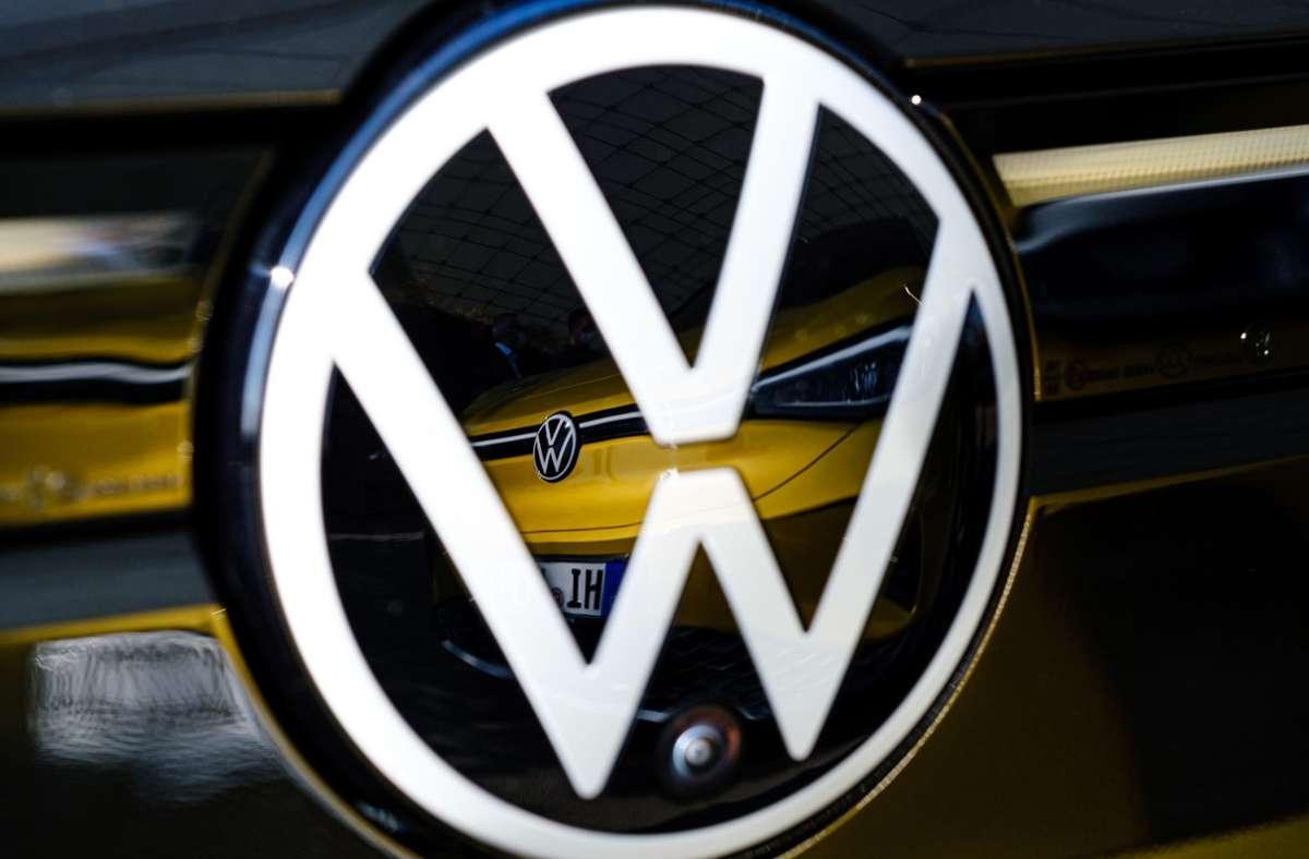 Volkswagen. (Symbolbild) Foto: dpa/Ole Spata