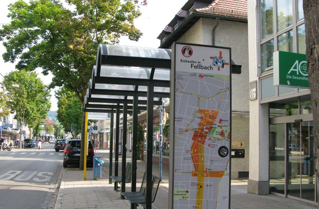 Händler in der nördlichen Bahnhofstraße sehen sich durch das Konzept von ihrer Entwicklung abgeschnitten. Foto: Eva Schäfer