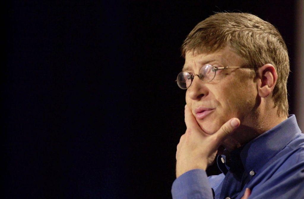 Auch Bill Gates ist ein beliebtes Ziel von Verschwörungstheorien. Foto: AP/CHERYL HATCH