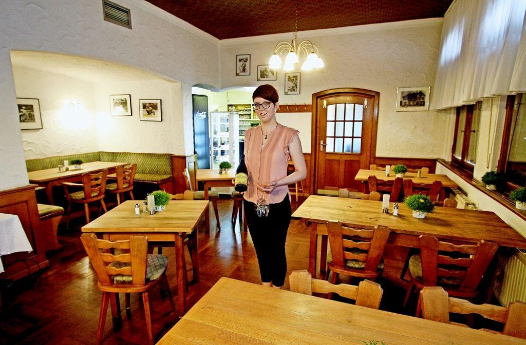 Unter der neuen Betriebsleiterin Kristin Straßburger wurde die Speisekarte des Glemseck vor allem mit Burger-Gerichten aufgepeppt. Foto: factum/Bach
