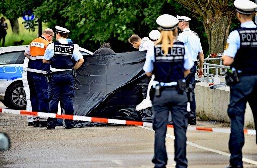 Polizei tötet mit Messer bewaffneten Mann