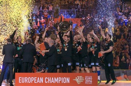 Deutschland ist Handball-Europameister – und wird mit Glückwünschen überhäuft. Foto: dpa