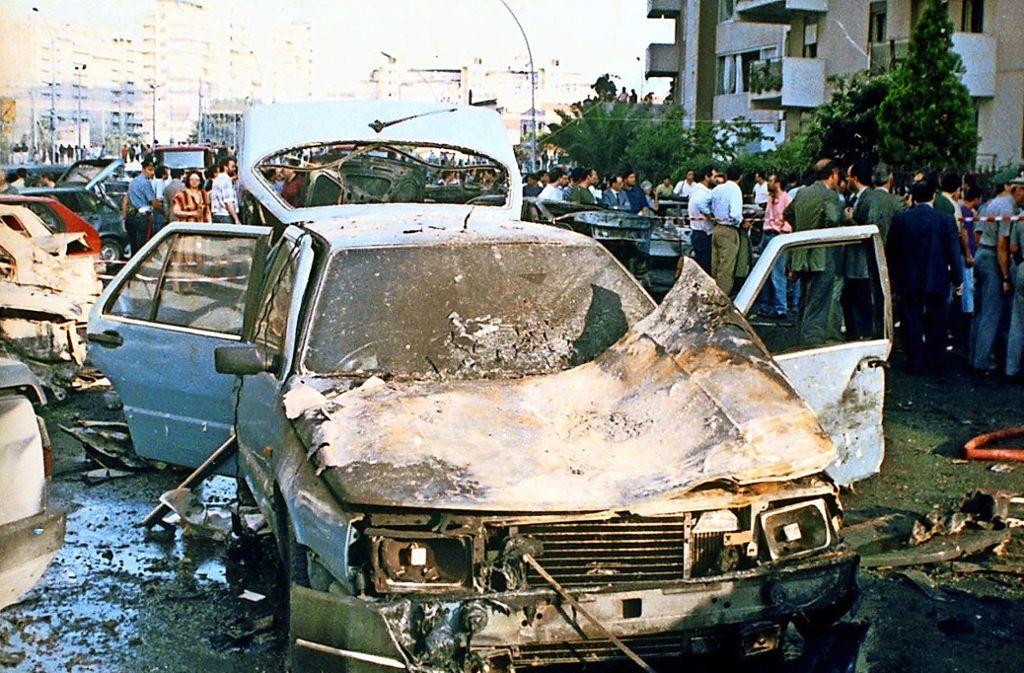 Eine Autobombe tötete 1992 den Mafia-Jäger Paolo Borsellino Foto: dpa