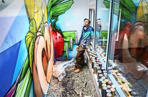 Vom illegalen Sprayer zum gefragten Künstler
