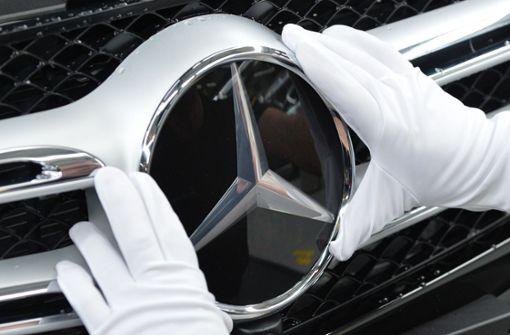 Stuttgarter Autobauer stellt Mercedes-Verkaufsrekord auf