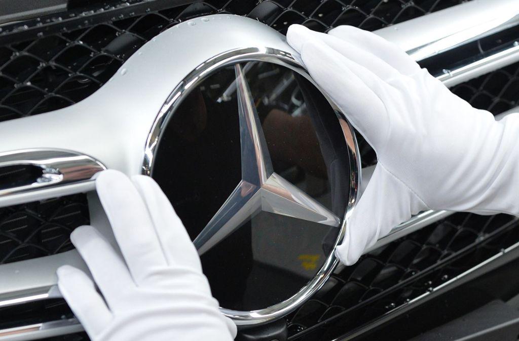 Auf Jahressicht wurden  bisher 2,1 Millionen Mercedes-Autos verkauft. Foto: dpa/Carmen Jaspersen