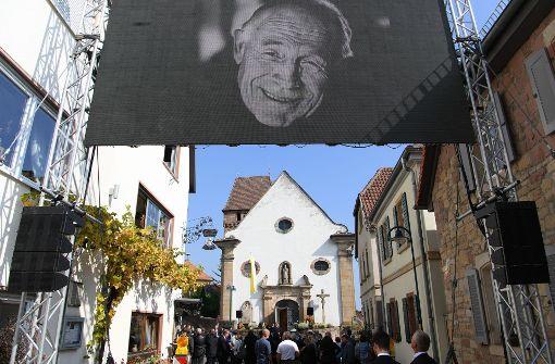 """Erwin Teufel: """"Er war streitbarer Geist"""""""
