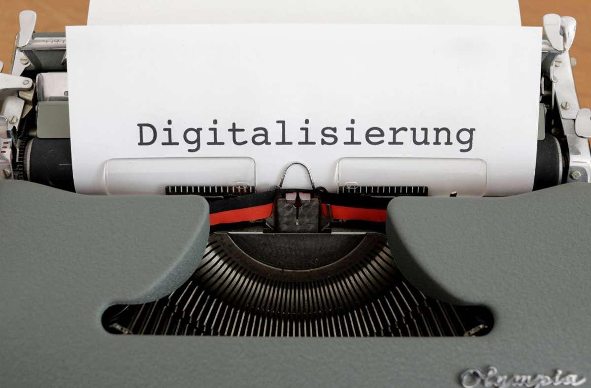 Digitalisierung. (Symbolbild) Foto: imago images/Jens Schicke