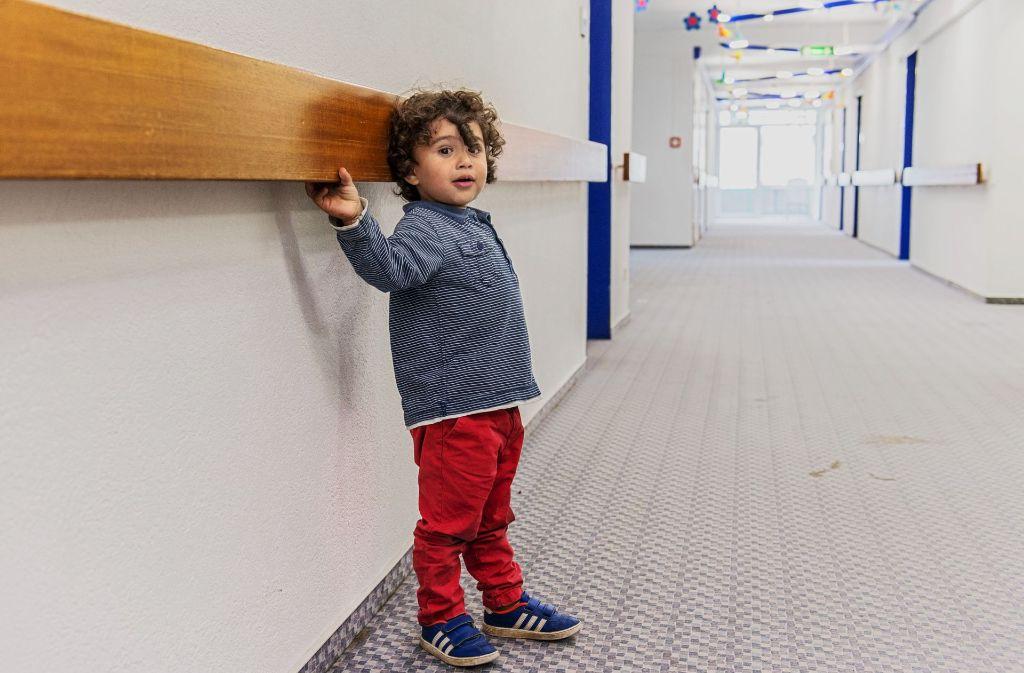 In Stuttgarts Kitas soll es auch mit Flüchtlingskindern nicht enger zugehen. Foto: dpa