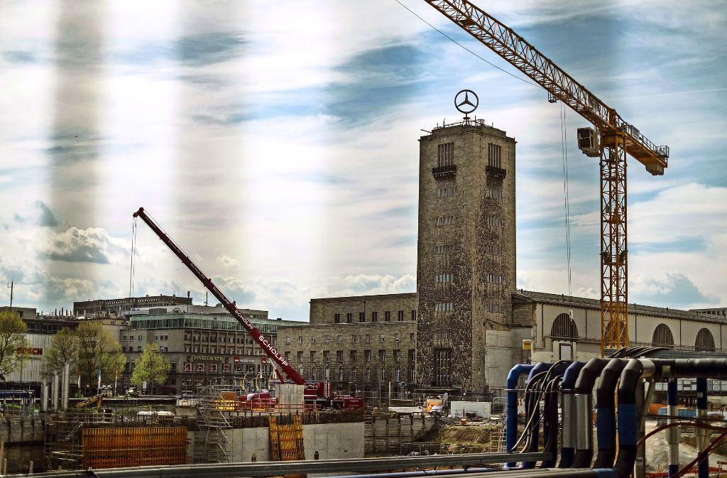 Die Hotelpläne für den Hauptbahnhof sind umstritten. Foto: Lichtgut/Max Kovalenko