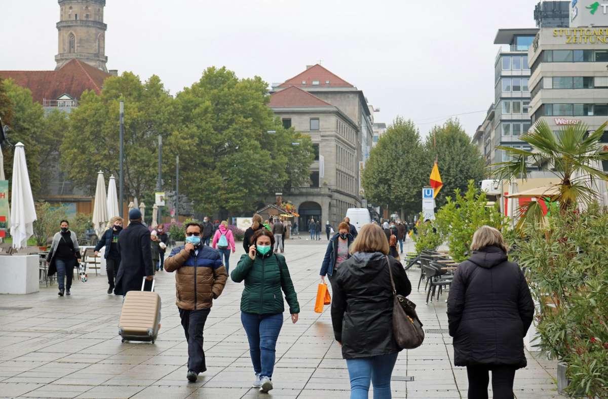 Maskenpflicht Stuttgart