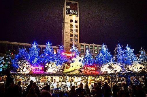 Angriff auf den  Weihnachtsmarkt