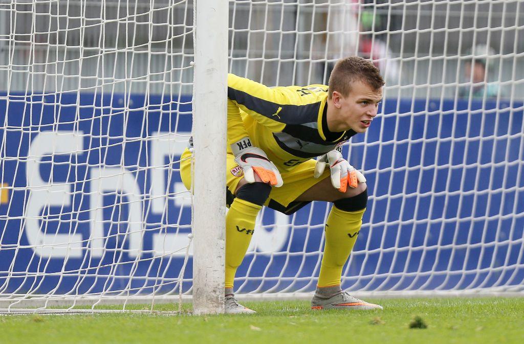 Torhüter Philipp Köhn verlässt den VfB Stuttgart. Foto: Baumann