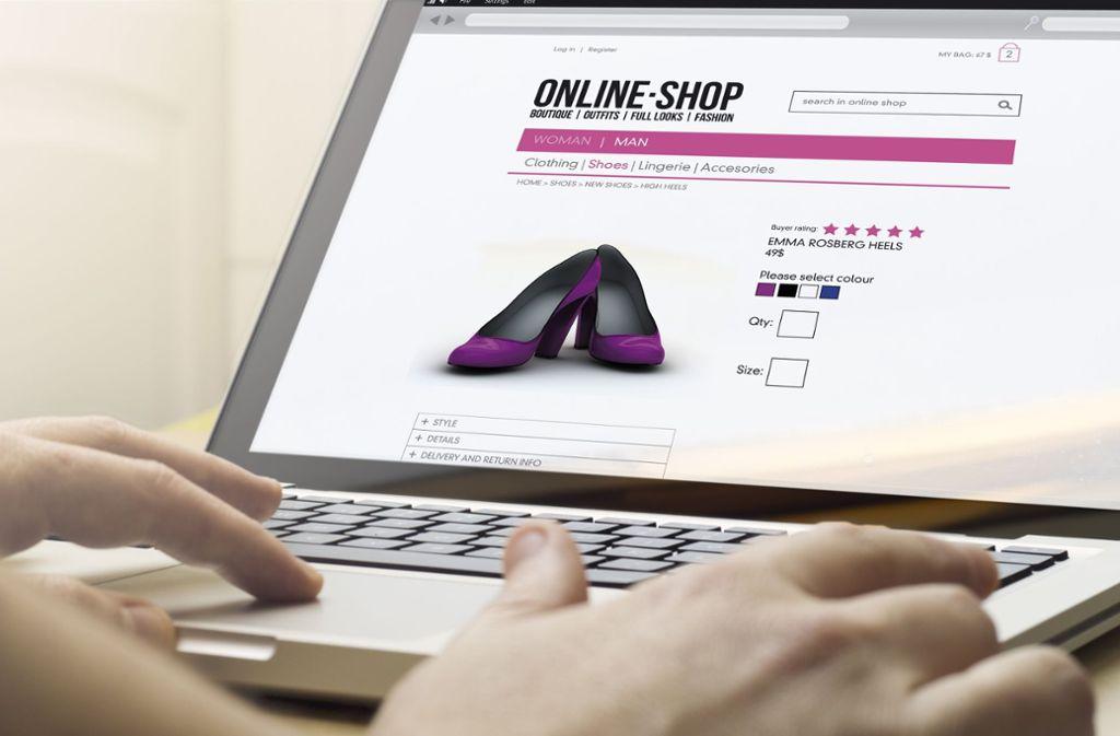 Täuschend echt sehen manche Online-Shops aus – und stellen sich beim zweiten Blick als Fake heraus. Foto: georgejmclittle/Adobe Stock