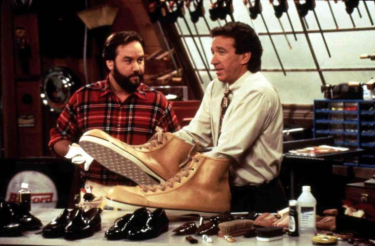 """Tim Allen und Richard Karn bauten in """"Hör mal wer da hämmert"""" nicht immer die praktischsten Dinge. Foto: imago images/United Archives"""