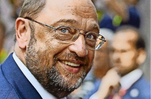 Martin Schulz weiß Chancen zu nutzen