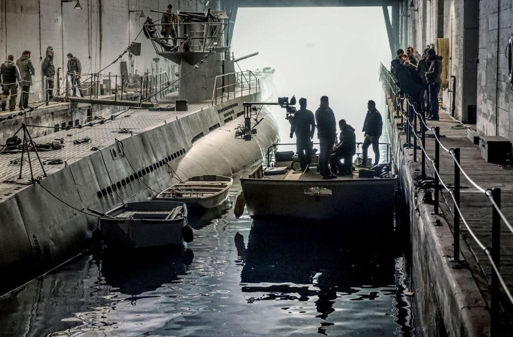 """Bavaria  und Sky wollen den legendären Kriegsfilm """"Das Boot""""  neu als  Serie herausbringen. Sie ist bereits abgedreht. """"Das Boot"""" wird voraussichtlich Ende 2018 exklusiv auf Sky in Deutschland, Österreich, Italien, Großbritannien und Irland zu sehen sein. Foto: Bavaria Fiction/Sky"""