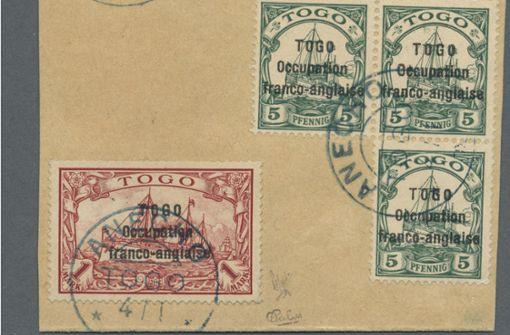 458000 Euro für eine Briefmarke