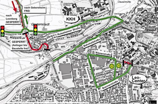 Die Rutesheimer Straße ist bald durchgängig befahrbar
