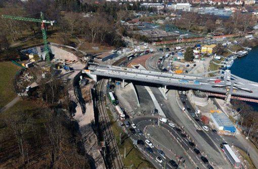 Noch viele Tests im Rosensteintunnel nötig