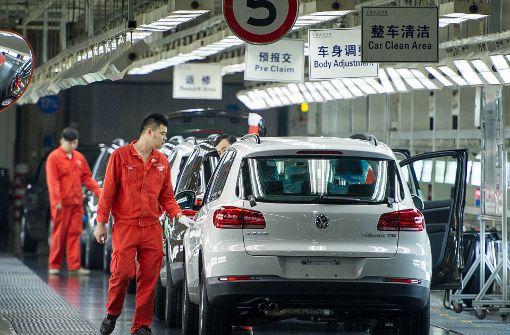 VW hängt stark von China ab