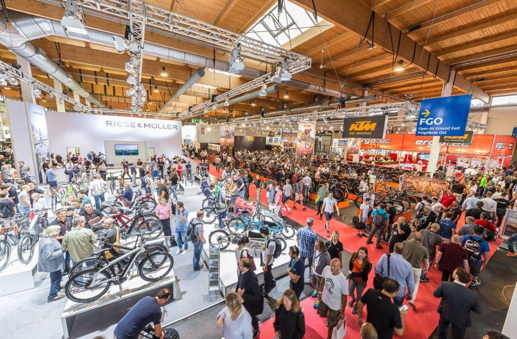 Die Eurobike ist eine der wichtigsten Messen der Fahrradbranche. Foto: obs