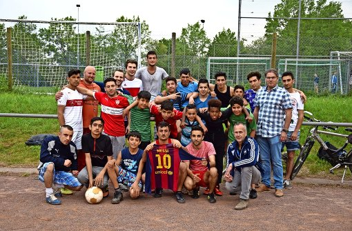 Junge Flüchtlinge integrieren sich spielend