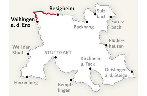 Über zwei Berge an den Neckar